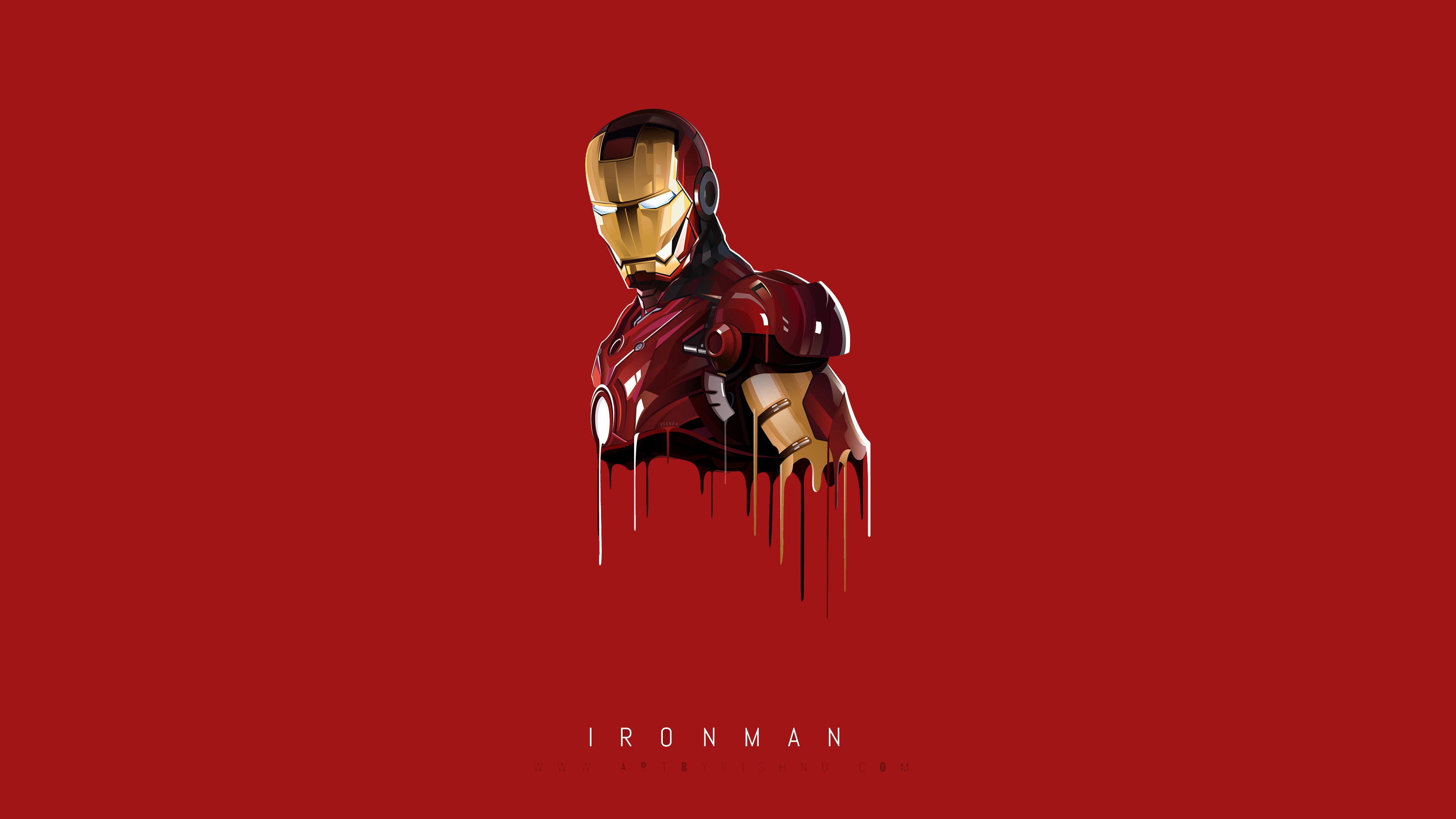 2560x1024 Iron Man Minimal 2560x1024 Resolution Hd 4k Wallpapers